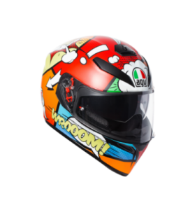 K-3 sv casco integrale E2205 multi plk Balloon AGV