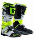 Offroad boots SG-12 white grey yellow fluo