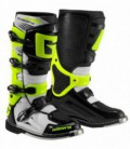 Offroad boots SG-10 white black yellow fluo