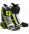 Boots racing Gp.1 evo white black yellow fluo