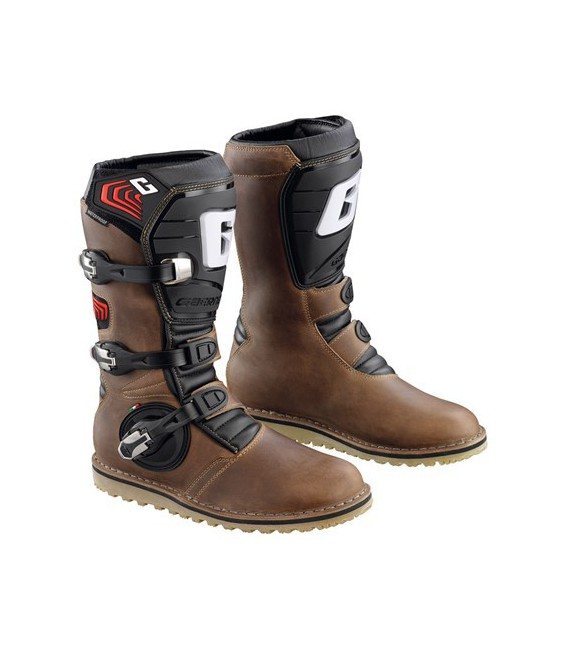 Boots Balance oiled brown