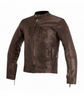 Giacca in pelle Brass marrone Alpinestars