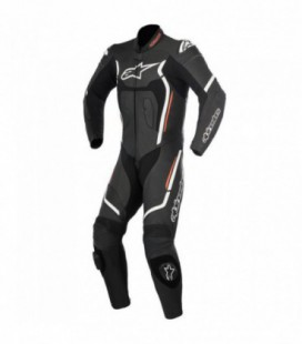 Motegi V2 1pc suit tuta in pelle racing nero Alpinestars