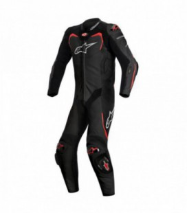 Gp pro 1pc suit tech-air compatibile tuta in pelle racing nero Alpinestars
