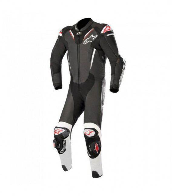 Atem V3 suit 1pc tuta in pelle racing nero Alpinestars
