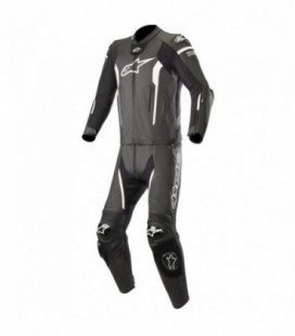 Missile suit 2pc tuta in pelle tech-air compatibile nero Alpinestars