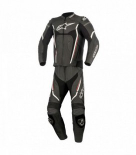 Motegi V2 2pc suit Tuta di pelle nero Alpinestars