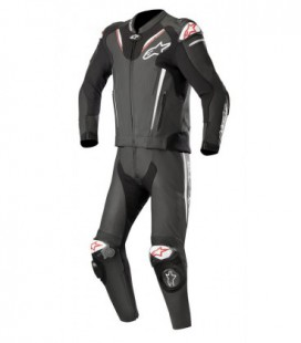 Atem v3 suit 2pc Tuta in pelle nero Alpinestars