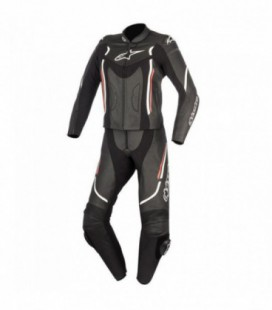 Stella Motegi V2 2pc suit tuta in pelle donna nero Alpinestars