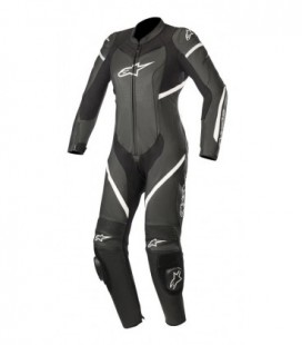 Stella Kira 1pc suit tuta in pelle racing donna nero Alpinestars