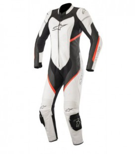 Stella Kira 1pc suit tuta in pelle racing donna bianco Alpinestars