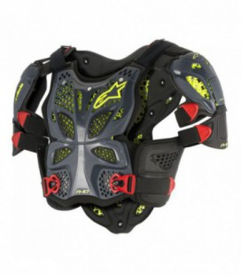 Pettorina A-10 full chest protector nero Alpinestars