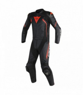 Racing suit 2pcs Avro D2 black red Dainese