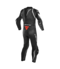 Racing suit Kyalami 1pc perforated black white Dainese