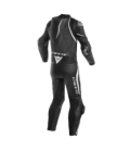 Racing suit Laguna Seca 4 short/tall 1pc perforated black white Dainese