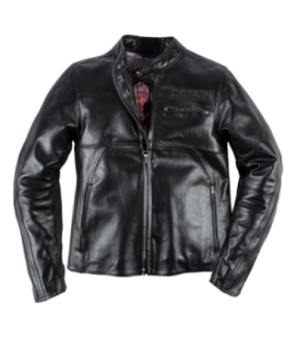 Leather jacket Toga72 black Dainese