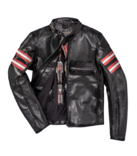 Leather jacket Rapida72 perforated Dainese