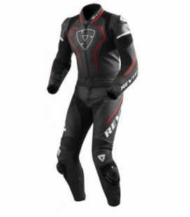 Combi suit Vertex Pro black red
