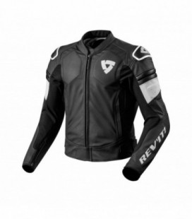 Leather jacket Akira black white