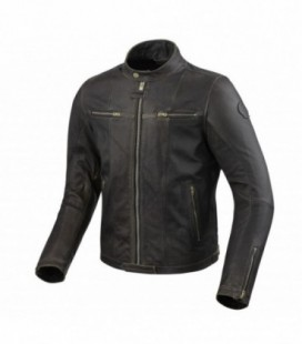 Leather jacket Roswell brown