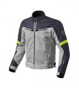Jacket Airwave 2 silver yellow fluo Rev'it