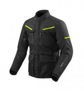 Jacket Safari 3 black yellow fluo