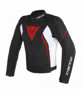 Jacket Avro D2 black white red Dainese