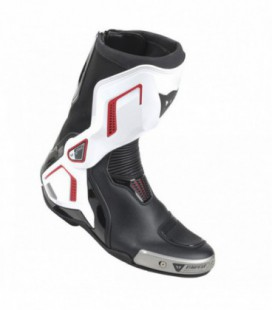 Boots Torque D1 out black white red lava Dainese