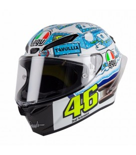 Pista GP R Limited Edition pinlock Rossi winter test 2018