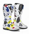 Crossfire 2 black white boots