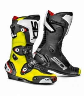 Vertigo 2 black red fluo boots