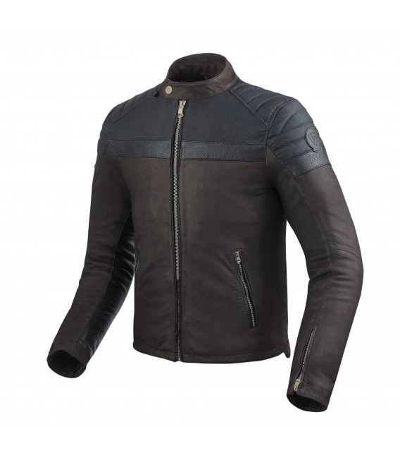 Leather jacket Fargo brown