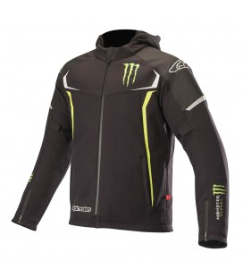 Orion techshell monster energy black green Alpinestars