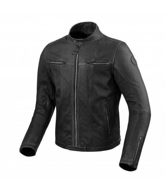 Leather jacket Roswell black
