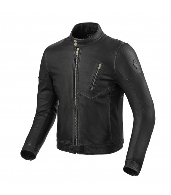 Leather jacket Albright black