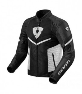 Jacket Arc air black white Rev'it