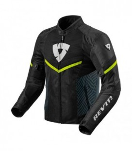 Jacket Arc air black yellow neon Rev'it