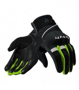 Gloves Mosca black yellow neon Rev'it