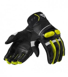 Guanti Hyperion nero giallo neon Rev'it
