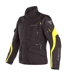 Jacket Tempest 2 D-Dry black yellow fluo Dainese
