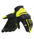 Gloves Aerox unisex black yellow fluo Dainese