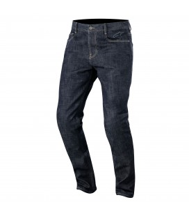 Pantaloni duple denim with kevlara Alpinestars
