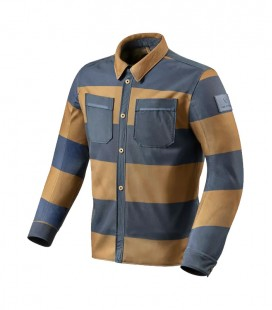 Rev'it | Tracer Air Brown-Blue Overshirt