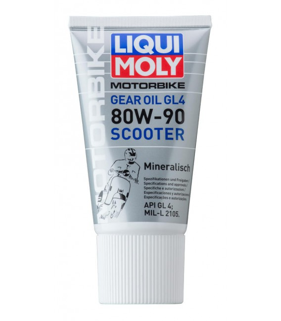 Gearoil 80w-90 scooter 150m Liqui Moly